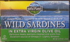 Wild Sardines in extra virgin olive oil - Produit