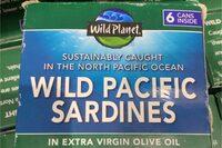 Wild pacific sardines - Product - en