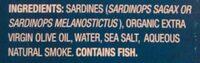 Wild pacific sardines - Ingredients - en