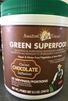 Green Superfood Chocolate 240G - Produit