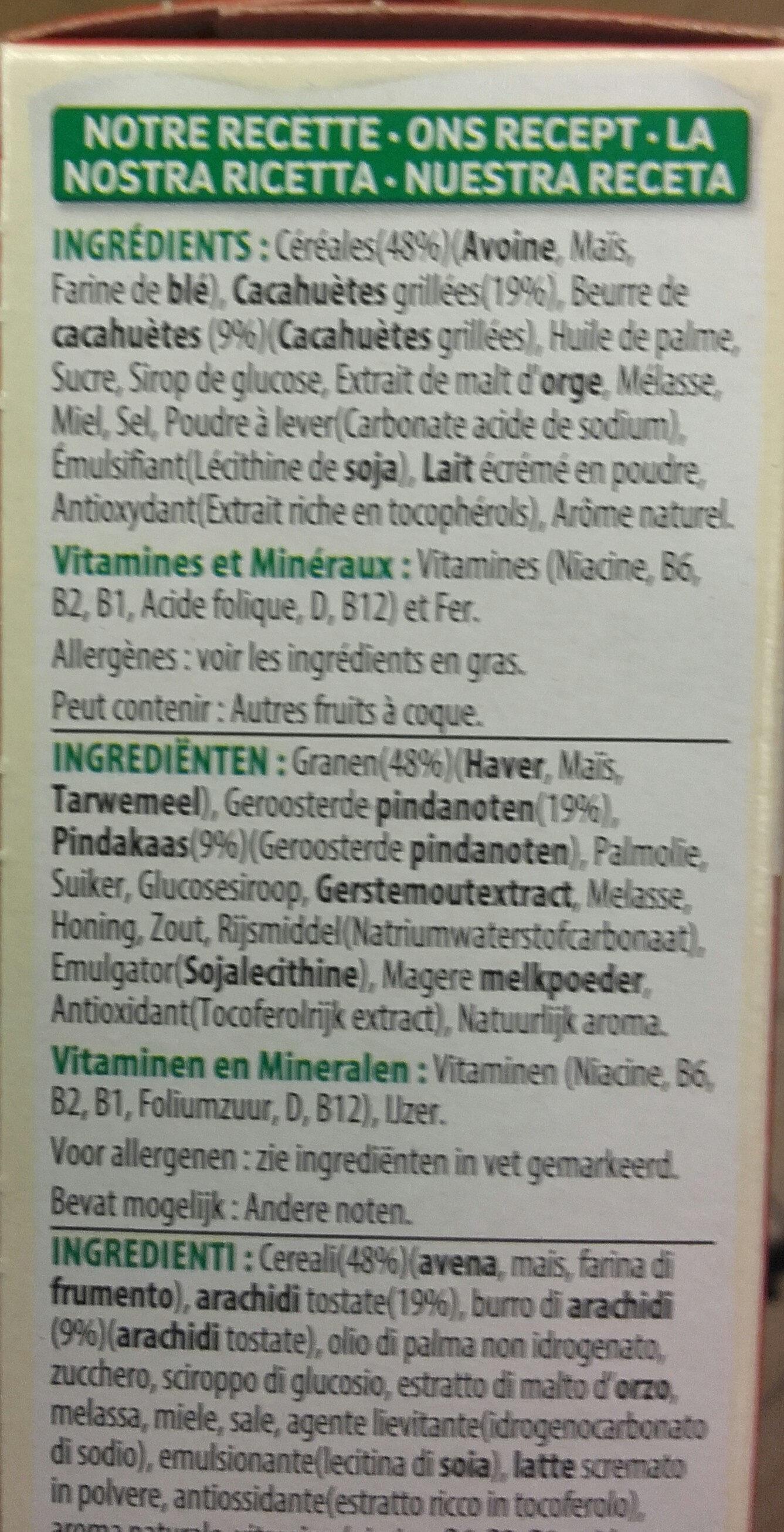 kellogs extra peanut butter - Produit