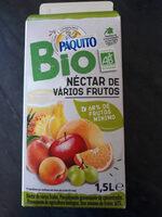 Nectar de Varios Frutos PAQUITO - Product - fr