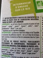 Nectar de Varios Frutos PAQUITO - Ingredients - fr