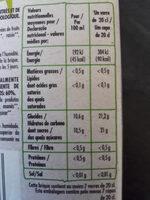 Nectar de Varios Frutos PAQUITO - Nutrition facts - fr
