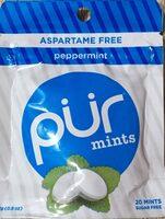 Peppermint mints - Product