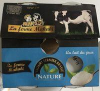 Yaourt Nature Makabi - KLP - Product - fr