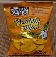 Samai Naturally Sweet Plantain Chips - Produit - fr