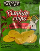 Plantain Chips Smoked Chili - Product