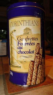 Gaufrettes fourrées  au chocolat - Product - fr