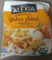 Organic Yukon Select Fries sea salt - Product - en