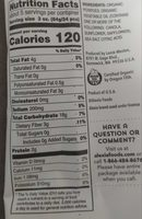 Organic Yukon Select Fries sea salt - Nutrition facts - en