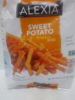 Sweet potato fries with sea salt - Product - en