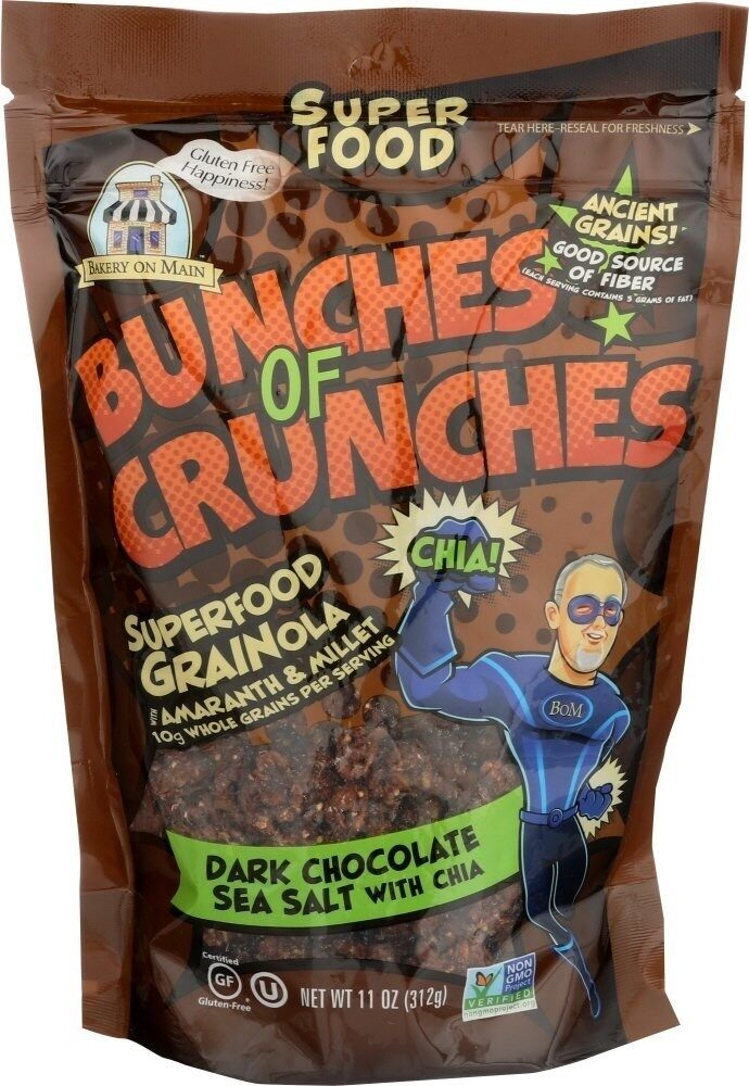 Gluten free bunches of crunches superfood granola - Prodotto - en