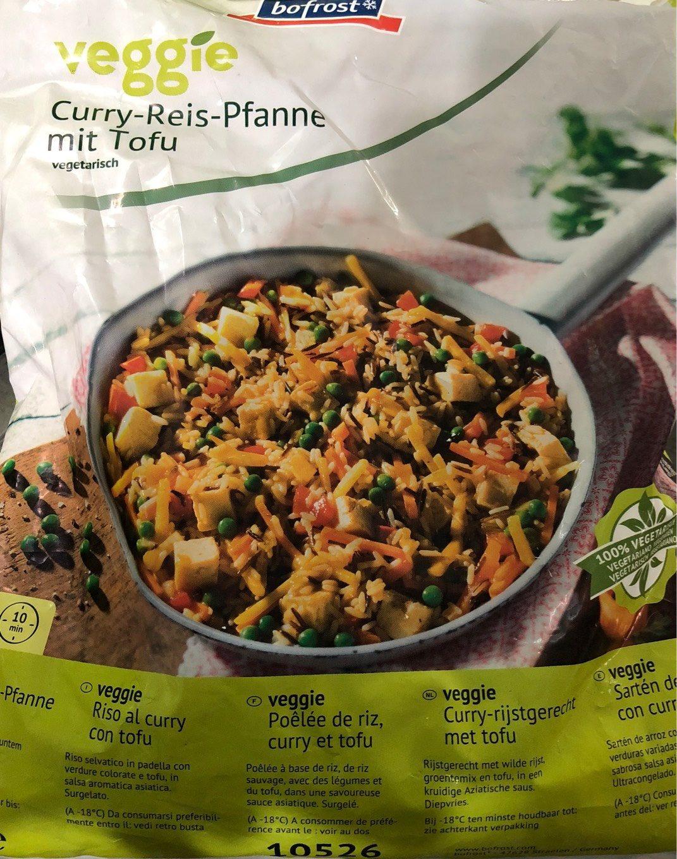 poêlée de riz, curry et tofou - Produit - fr