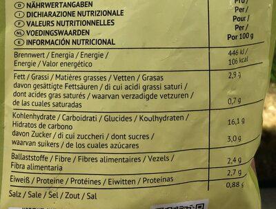poêlée de riz, curry et tofou - Informations nutritionnelles - fr