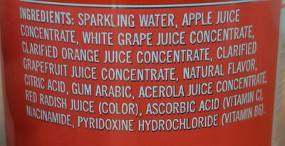Sparkling Grapefruit - Ingredients