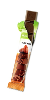 Barre de Chocolat aux Amandes NewTree - Product