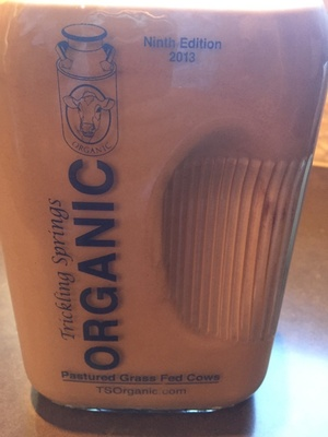 Organic chocolate milk - Product