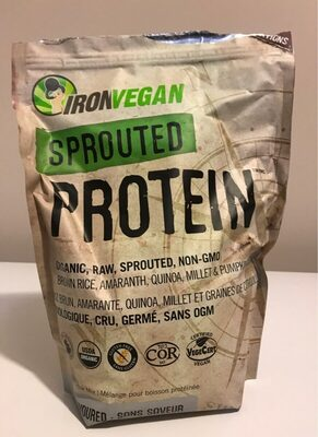 Sprouted protein - Produit - fr