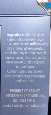 Truffle mallow bear - Ingrediënten