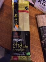 Organic CHAsoba noodles - Nutrition facts - fr