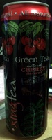 Green Tea natural cherry flavored - Product