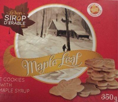 Feuille d'érable, biscuits à la crème - Product - fr