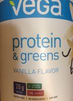 Protein & Greens Vanilla Flavor - Product