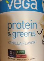Protein and green vanilla flavor - Produit - fr