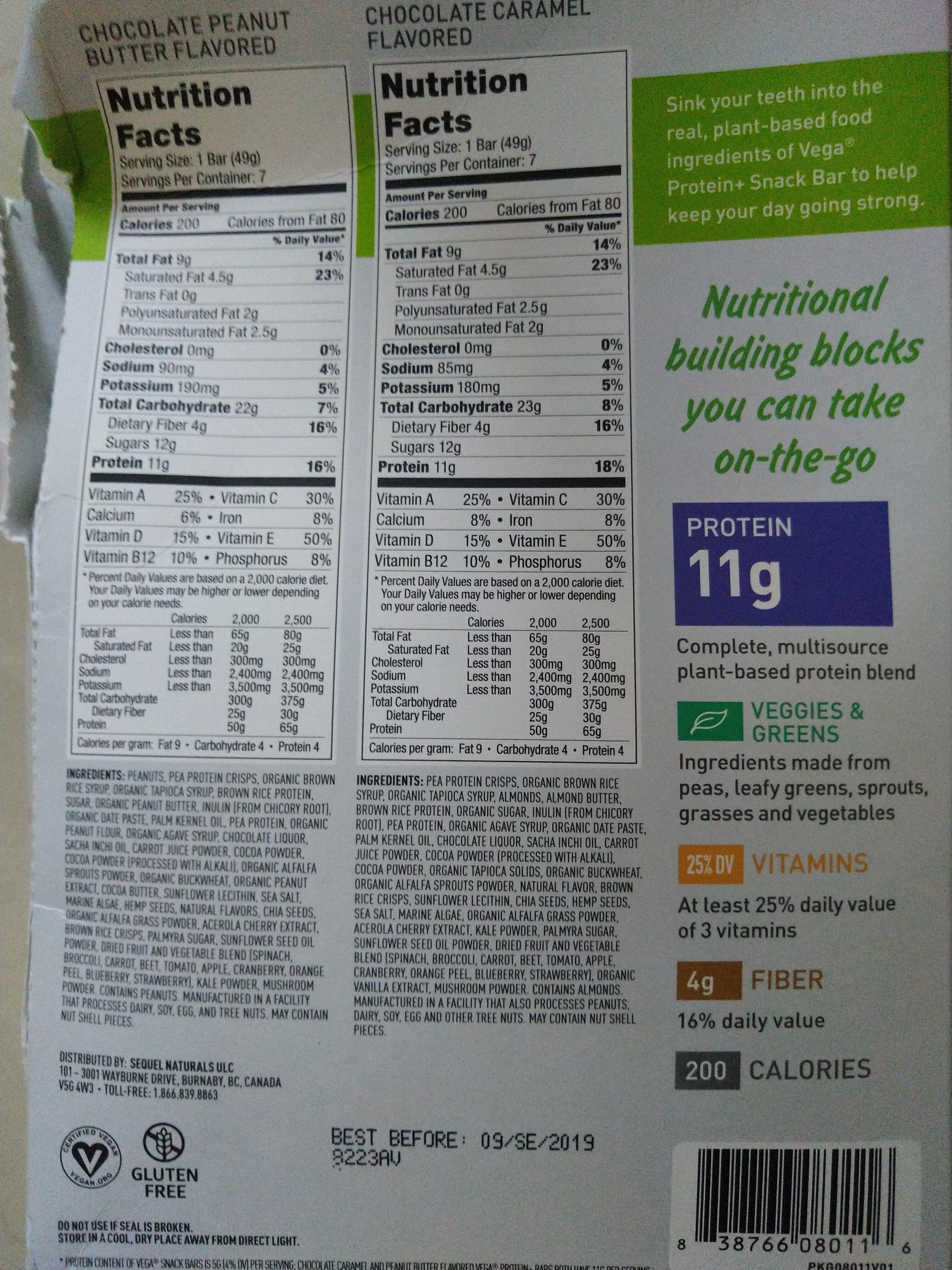 protein + snack bar - Produit - en