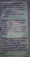 Organic Ice Wand Freezer Pops - Ingrédients - en