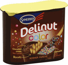 Delinut Color Chocolate Spread With Hazelnuts,Biscuits - Product - fr