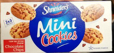 Mini Cookies Pépites De Chocolat Shneider's - Product - fr