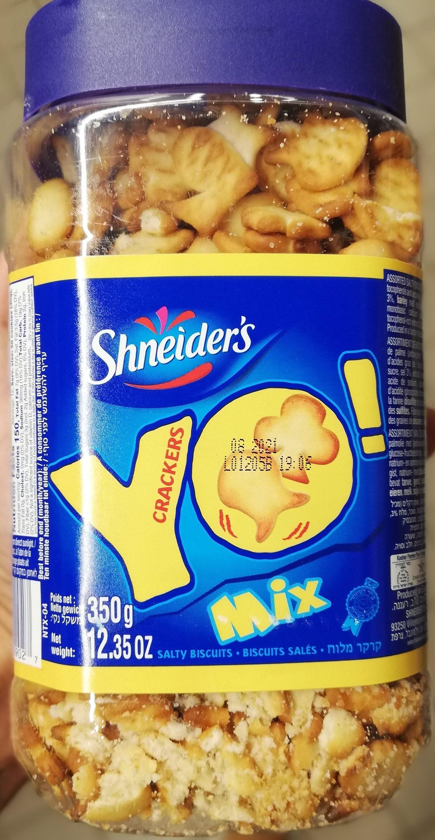 Liebers Yo! Crackers Mix - Produit - fr