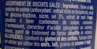 Liebers Yo! Crackers Mix - Ingrédients - fr
