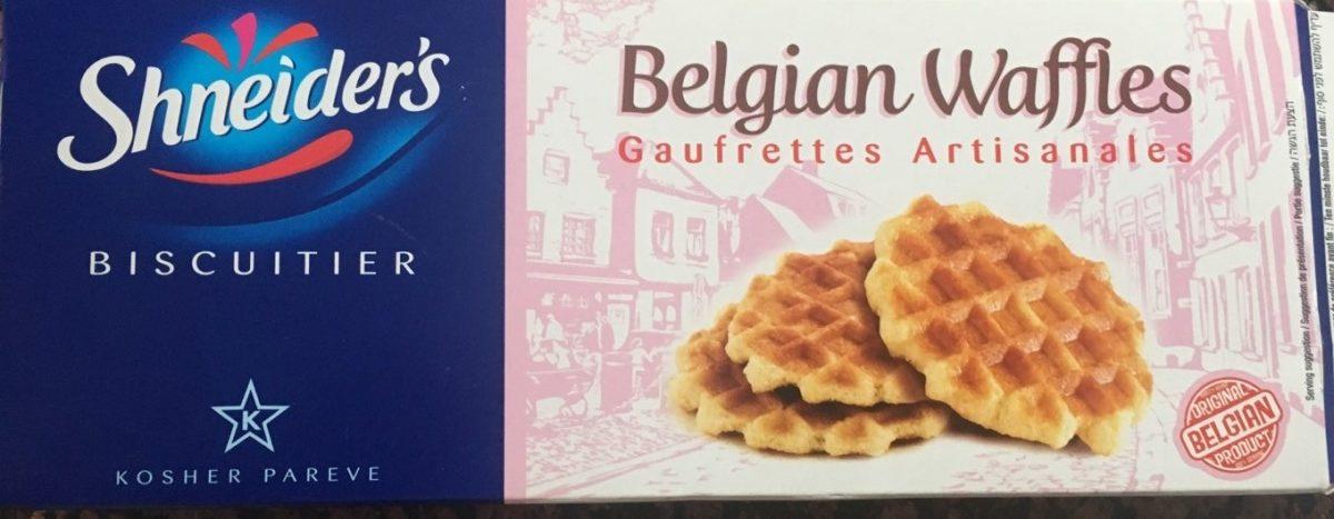 Belgian Waffles - Product - fr