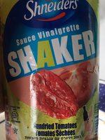 Sauce vinaigrette tomates sechees - Produit