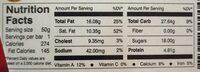 Kingsbite chocolat au lait - Voedingswaarden - fr