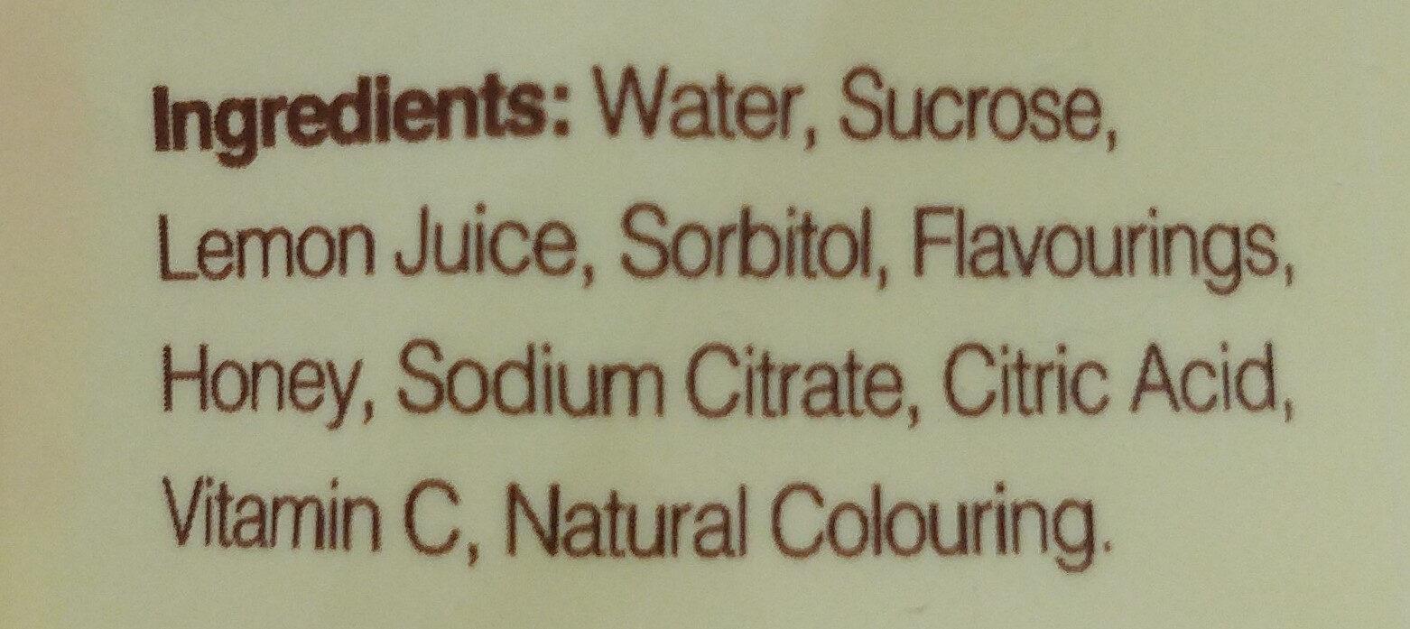 Natsbee - Ingrediënten - en