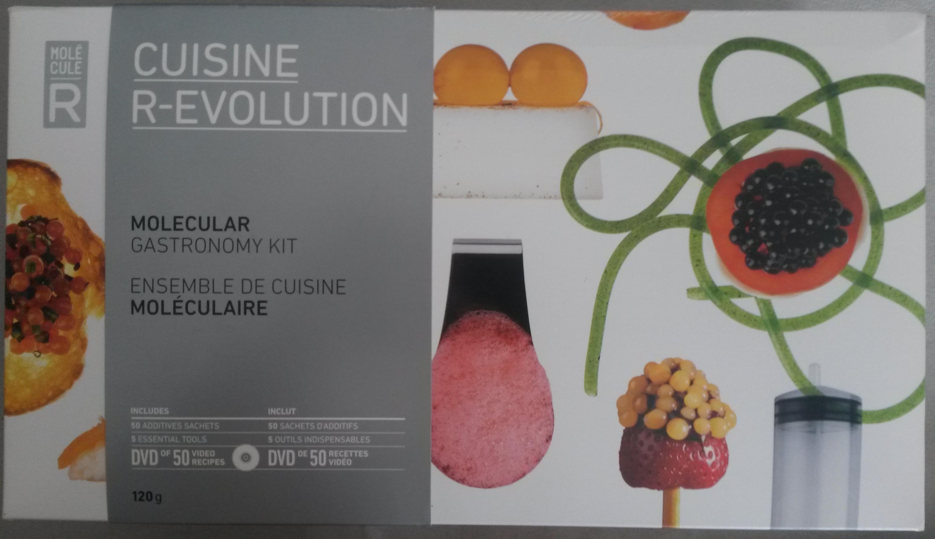 Cuisine r evolution mol cule r 120 g for Cuisine r evolution