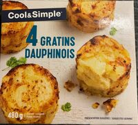 4 gratins dauphinois - Product - fr