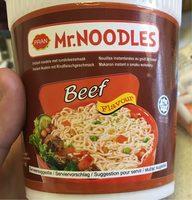 Soupe Noodles Beef - Produkt - fr