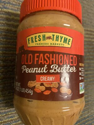 Old Fashioned Peanut Butter Creamy - Product
