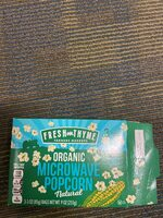 Fresh Thyme Organic Microwave Popcorn - Product - en