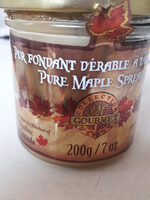crème de sirop d'érable - Product - fr