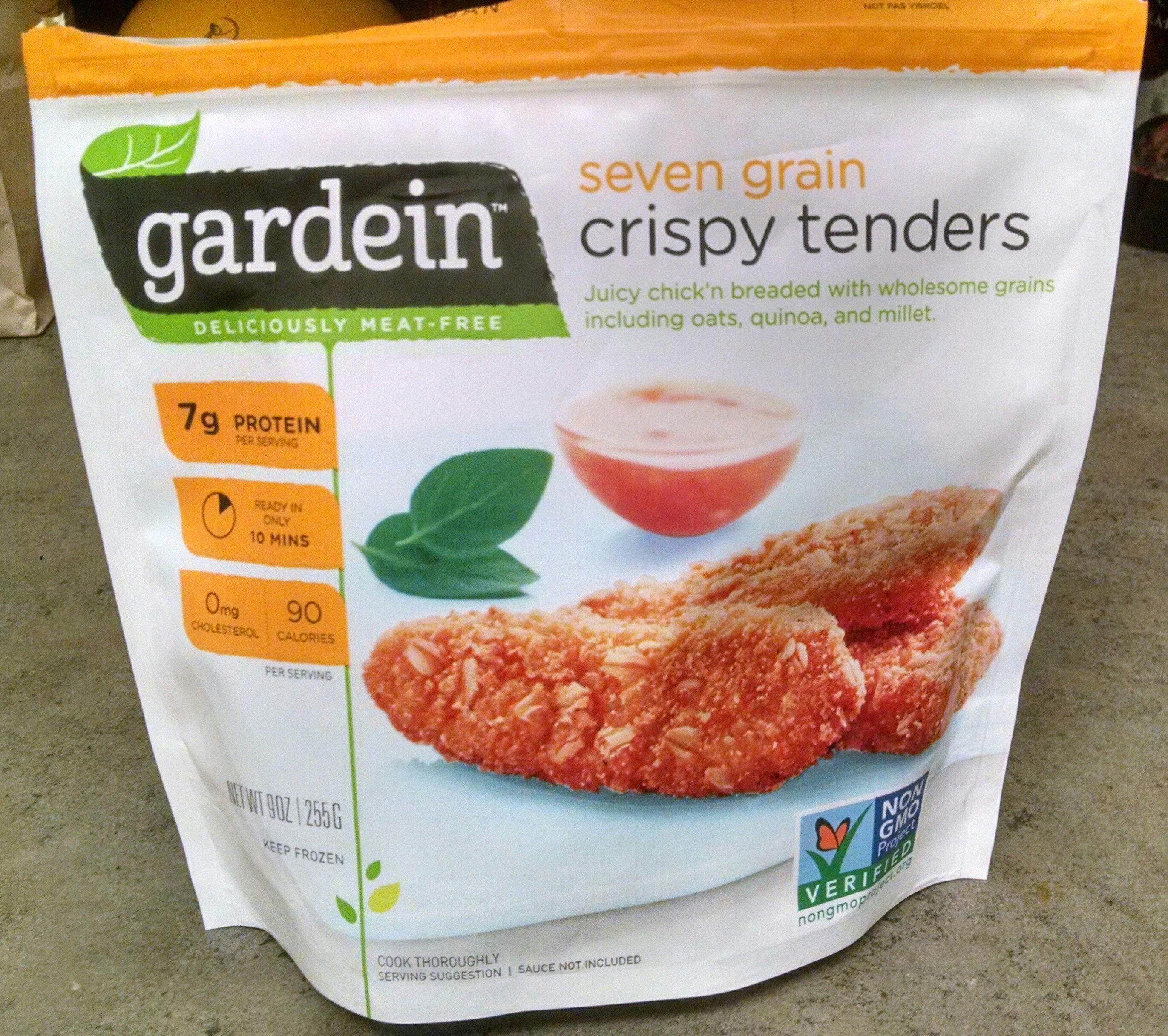 Gardein, seven grain crispy tenders - Produit - en
