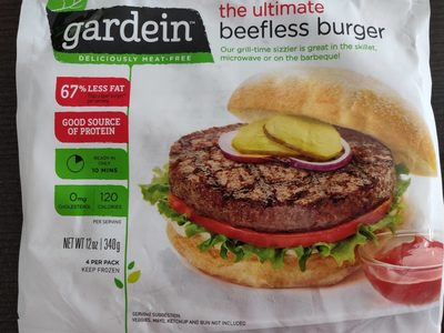 Gardein, ultimate beefless burger - Product