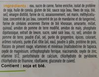 Croustillant végé - Ingrédients - fr