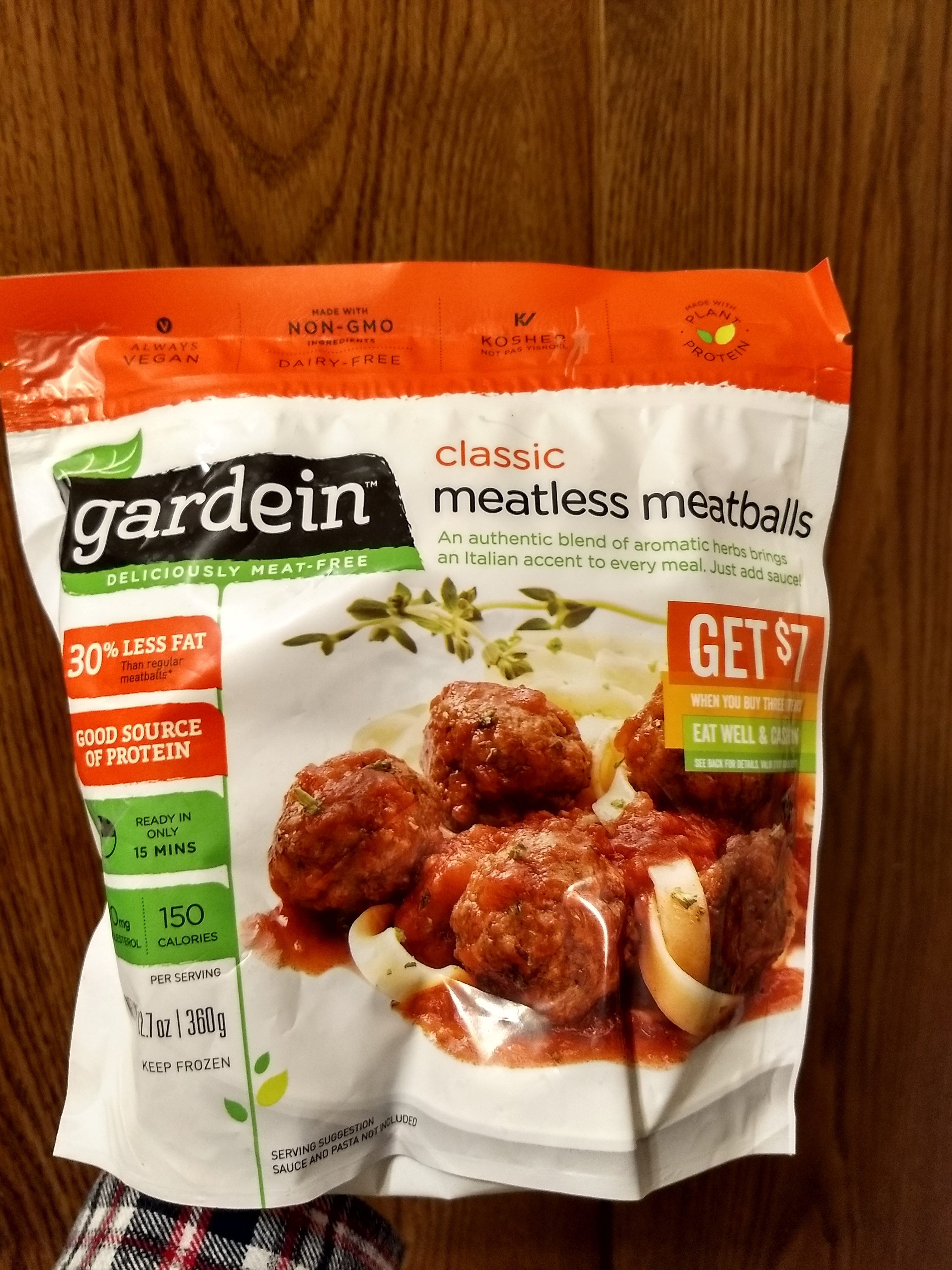 Classic meatless meatballs - Product