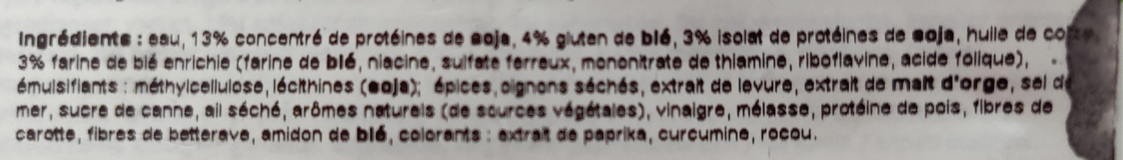 Gardein, classic meatless meatballs - Ingredients - en